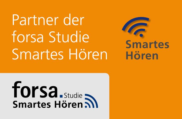 Wir suchen Teilnehmer für die Studie Smartes Hören des forsa Institutes